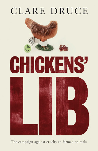The cover of 'Chickens' Lib' by Clare Druce.