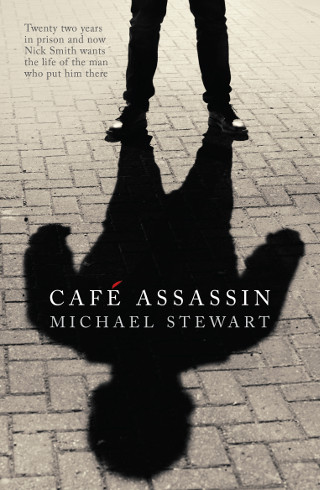 The cover of 'Cafe Assassin' by Michael Stewart.