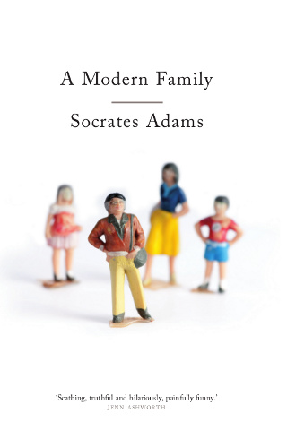 The cover of 'A Modern Family' by Socrates Adams.