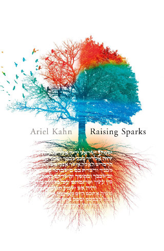 The cover of 'Raising Sparks' by Ariel Kahn.